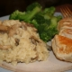 Savory Mushroom Risotto with Sautéed Chicken Breasts