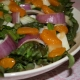 Mandarin Salad Margherita with Wasabi Dijon Dressing