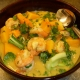 Coconut Curry Shrimp & Scallop Soup